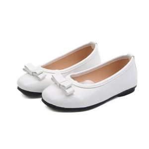 Lovely White Flat Shoes